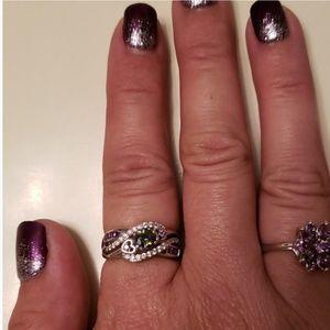Nib 925 Stone Ring Size 7